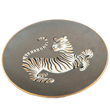 Tiger Brown Bullet Bowl by Wayland Gregory Ceramics | Gracious Style