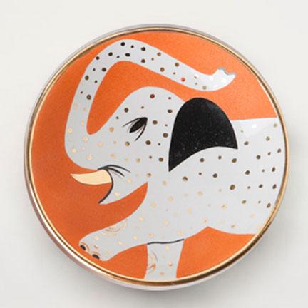 Elephant Orange Bowl