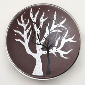 Tree of Life Bullet Bowl by Wayland Gregory Ceramics | Gracious Style