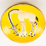 Giraffe Yellow Bullet Bowl by Wayland Gregory Ceramics | Gracious Style