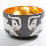 Elephant Grey Chubby Bowl by Wayland Gregory Ceramics | Gracious Style