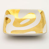 Lava White Tray by Wayland Gregory Ceramics | Gracious Style