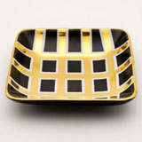 Grid Black Tray by Wayland Gregory Ceramics | Gracious Style