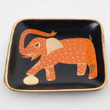 Elephant Black Tray by Wayland Gregory Ceramics | Gracious Style