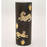 Leopard Brown Vase by Wayland Gregory Ceramics | Gracious Style