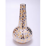 Gold/Platinum Dot Genie Vase by Wayland Gregory Ceramics | Gracious Style