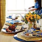 Kim Seybert Chinoiserie Table Setting | Gracious Style