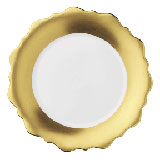 J.L. Coquet Samoa Gold Band Dinnerware | Gracious Style