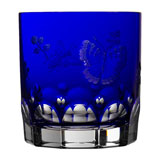 Springtime Cobalt Double Old Fashioned | Gracious Style