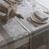 Azulejos Grey Table Linens
