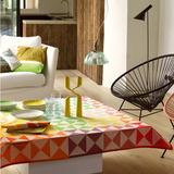 Origami Multicolor Table Linens