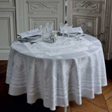 Garnier-Thiebaut Beauregard Galet Table Linens | Gracious Style