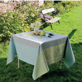 Garnier Thiebaut Galaxy Sky Table Linens | Gracious Style
