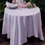 Mille Rubans Blush Table Linens