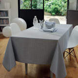 Illusion Metal Easy Care Table Linens