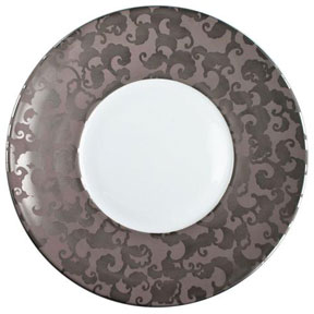 Jaune de Chrome French Cancan Platinum Dinnerware | Gracious Style