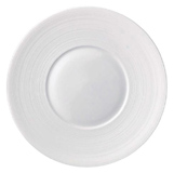 Hemisphere White Presentation Plate 12.25 in Round | Gracious Style