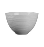Hemisphere White Maxi Bowl 17.5 oz 5 in Round | Gracious Style