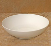 Hemisphere White Large Soup/Cereal Bowl 2 in. H | Gracious Style