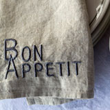 Bon Appetit Linen Napkins