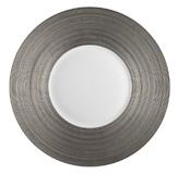 Hemisphere Platinum Dinner Plate | Gracious Style