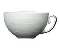 Hemisphere Platinum Tea Cup 7.5 oz 3.75 in Round | Gracious Style