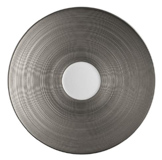 Hemisphere Platinum Tea Saucer 6.5 in Round | Gracious Style
