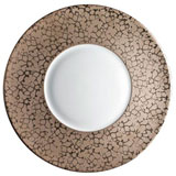 J.L. Coquet Horus Bronze Charger Plate | Gracious Style