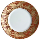 J.L. Coquet Trois Ors Red Dinnerware | Gracious Style