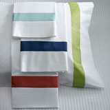 Orlo Stripe Sheets, Duvet Covers, Shams | Gracious Style