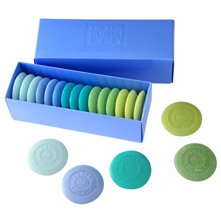 Blue Guest Soap Pastille Gift Box