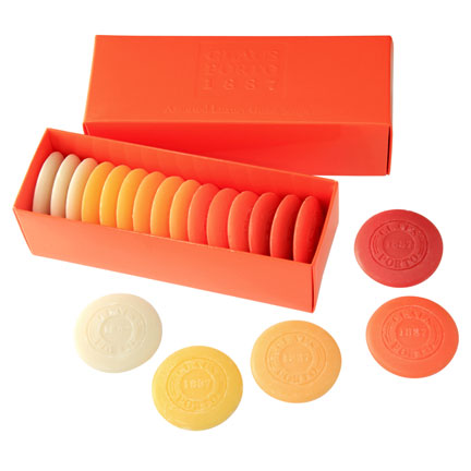 Orange Guest Soap Pastille Gift Box