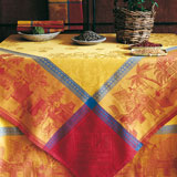 Le Jacquard Francais Chinese Market Table Linens &#124; Gracious Style