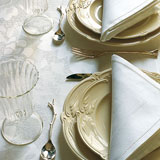 Le Jacquard Francais Deauville Table Linens &#124; Gracious Style