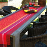 Provence Coated Strawberry Table Linens