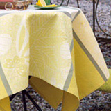 Le Jacquard Francais Emprientes Vegetales Table Linens &#124; Gracious Style