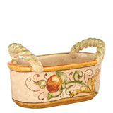 Affresco Handled Basket | Gracious Style