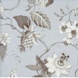 Dinner Napkins - Blue Floral Print Fabric &#124; Gracious Style