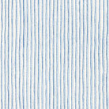 Dinner Napkins - Sky Blue Stripe Print Fabric &#124; Gracious Style