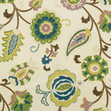 Dinner Napkins - Blue Modern Paisley Print &#124; Gracious Style