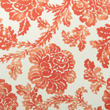Vietri Coral Abstract Floral Cloth Napkins | Gracious Style