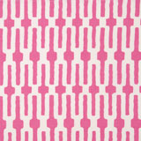 Dinner Napkins - Pink Chain Link Print Fabric | Gracious Style