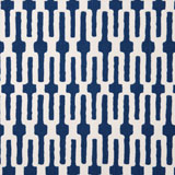 Vietri Indigo Blue Chain Link Print Napkins &#124; Gracious Style