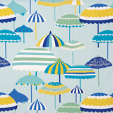 Vietri Aqua Umbrellas Linen Napkins &#124; Gracious Style