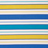 Dinner Napkins - Turquoise Stripe Fabric | Gracious Style