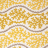 Dinner Napkins - Yellow Coral Print Fabric &#124; Gracious Style