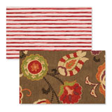 Reversible Placemats - Nutmeg Paisley | Gracious Style