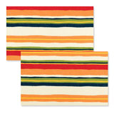 Reversible Placemats - Bold Stripe | Gracious Style