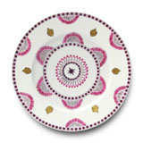 Agra Rose Charger 11.5 in Round | Gracious Style