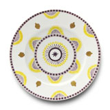Agra Yellow Charger 11.5 in Round | Gracious Style